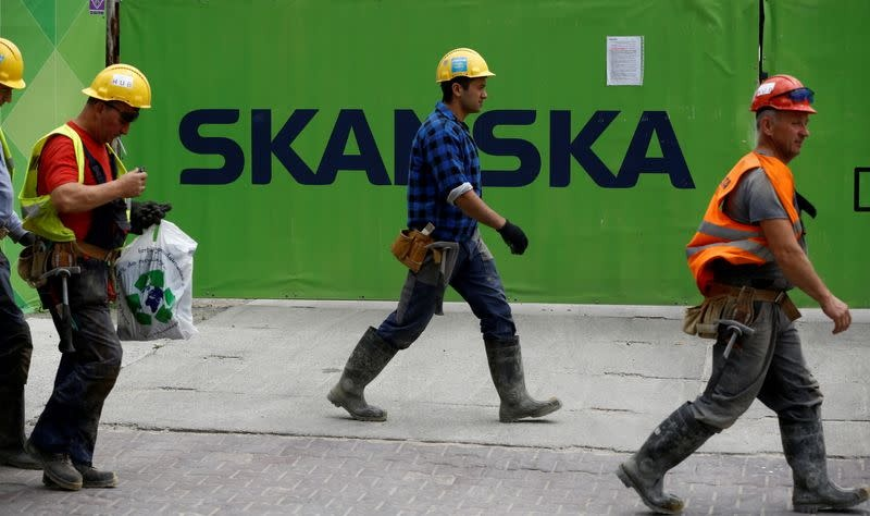 Skanska says to invest record $476 mln in US office development project